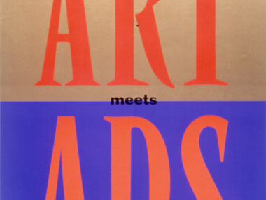 "Katalogbuch ""Art meets Ads"" zur Ausstellung ""Avantgarde & Kampagne"", Düsseldorf 1992"