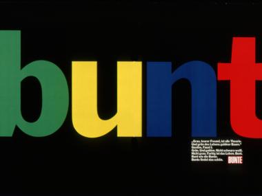 Anzeige für BUNTE, 1979