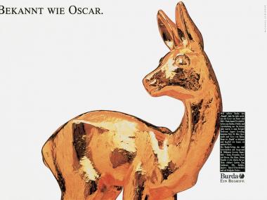 Imageanzeige für die Burda GmbH, München 1989
