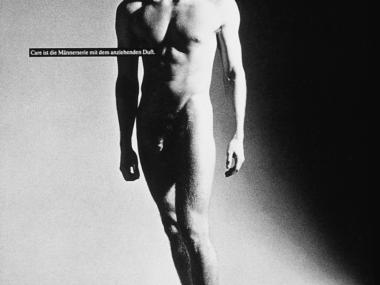 Anzeige für die Herrenkosmetikserie Care, 1985