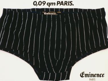 Plakat für Eminence Herrenunterwäsche, 1979