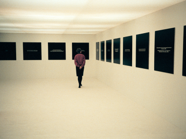 Michael Schirner, Pictures in our Minds, Hamburg 1985, Exhibition Shot