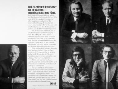 Anzeige für die GKO&S Werbeagentur Hamburg 1971