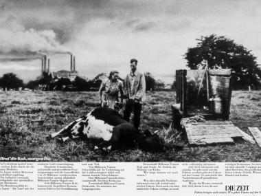 Anzeige für die Wochenzeitung DIE ZEIT, 1972