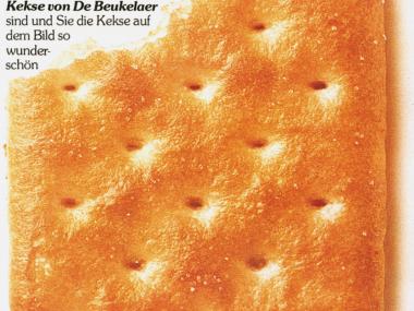 1. Seite einer 3seitigen Anzeige für TUC-Cracker, 1979