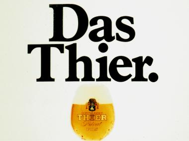 Großfächenplakat für die Thier-Brauerei, 1980