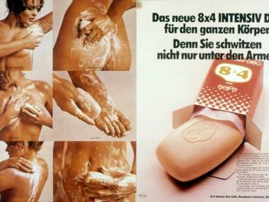 Anzeige zur Einführung des 8x4 Intensiv-Deos, 1972